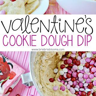 Valentines Cookie Dough Dip Recipe