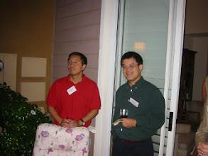 Photo: Professors Hongkai Zhao and Jack Xin