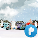 Cloudy Winter Launcher Theme icon