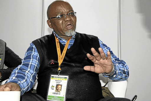 In charge: New Mineral Resources Minister Gwede Mantashe will have to decide what to do with troubled Gupta-owned mines. Picture: ZINGISA MVUMVU