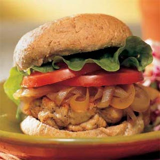 Quick-and-Easy Turkey Burgers.