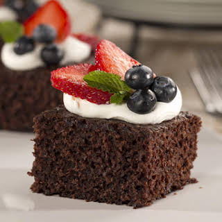 Chocolate Spa Cake.