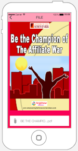 Be The Champion Of The Affiliate War eBook ✔️ for PC-Windows 7,8,10 and Mac apk screenshot 3