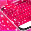 Keyboard Pink Free icon