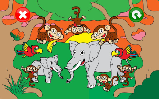 Kids Puzzle Animal Games for Kids, Toddlers Free  screenshots 15