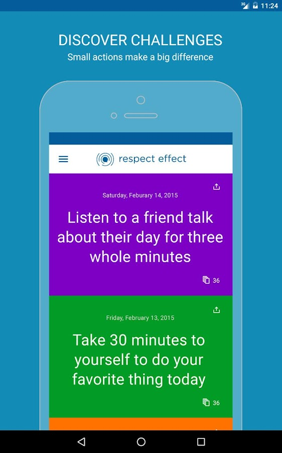 Respect Effect- screenshot