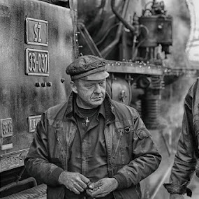 Railway 6321 by Jani Novak - Black & White Street & Candid ( railway 6321 )