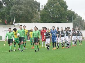 Photo: Entrada em campo das equipas