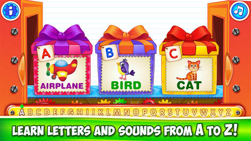 Baby ABC in box Kids alphabet games for toddlers android2mod screenshots 3