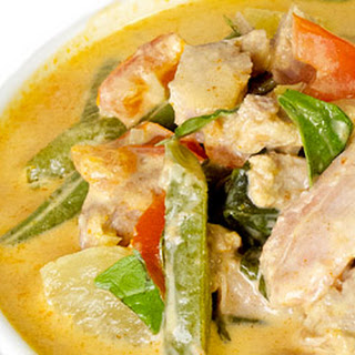Thai Red Curry with Duck.