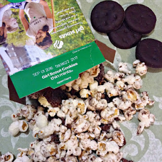 Girl Scouts Thin Mints Cookie Popcorn Munch