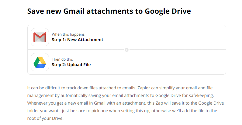 gmail zap example