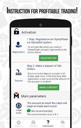 OlympBot -  Olymp Trade Robot (OlympTrade bot) 2.0 screenshots 4