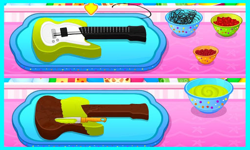 Delicious Art Guitar Cake Apk Download 4