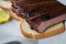 Smoked Rib Sandwich