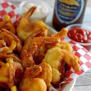 15-minute Beer Battered Shrimp.