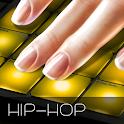 Drum Pad HIP-HOP music maker dj icon