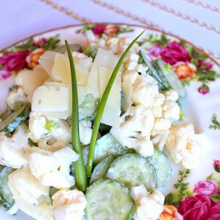 Cauliflower Salad With Parmesan Cheese Recipes