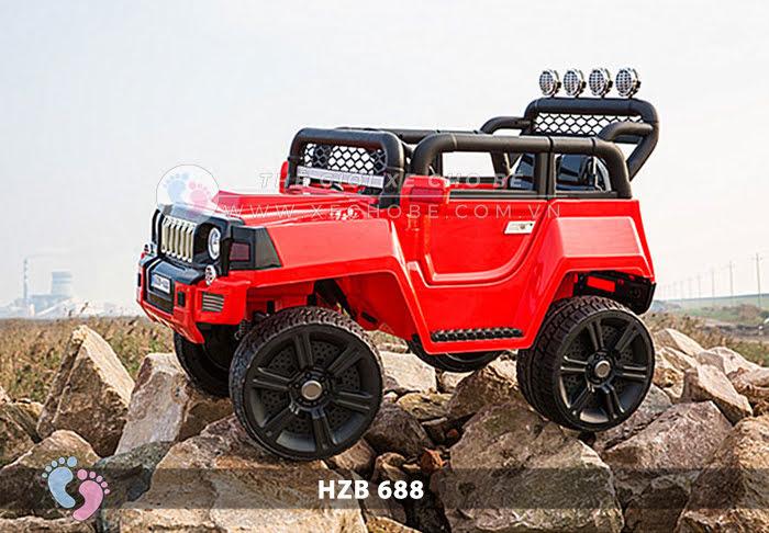Xe ô tô điện cho bé Jeep HZB-688 9