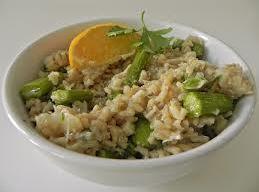 Crab And Asparagus Risotto Recipe