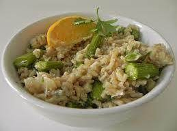 Crab And Asparagus Risotto Recipe