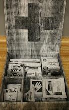 Photo: C104 Tan Reserve $300 Photocopies on Archiva lFoamcore 3x8x8