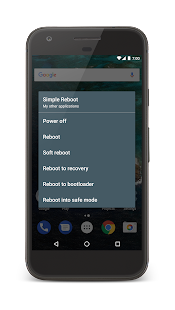 Simple Reboot for rooted users Screenshot