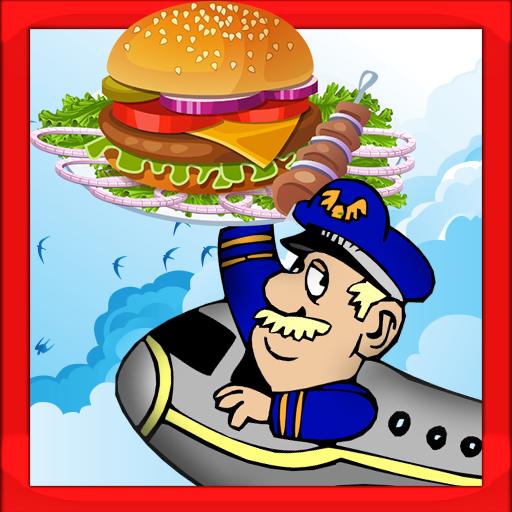 休闲の飛行機の食品メーカー&クッキング LOGO-記事Game