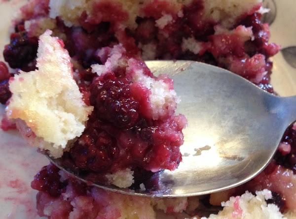 Oatmeal Blackberry Cobbler Recipe