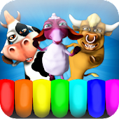 Kids Animal Piano Music Game