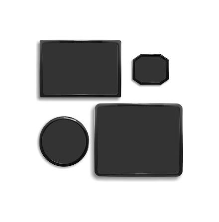 DEMCiflex magnetisk filtersett for Corsair 650D, sort