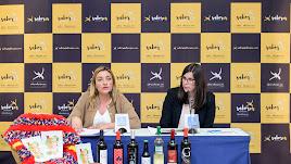 María López y Almudena Morales presentaron la Feria del Vino