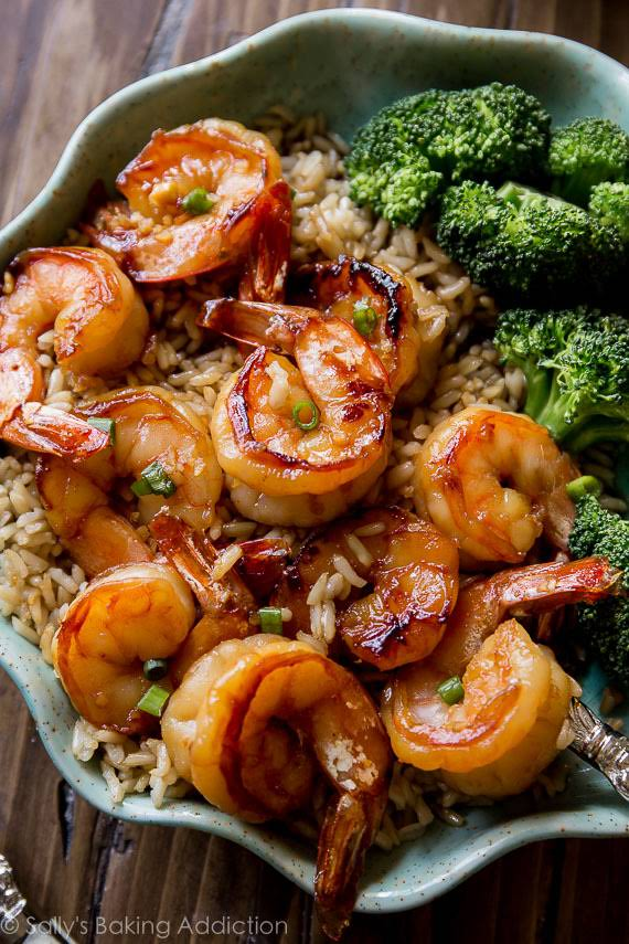20 Minute Honey Garlic Shrimp Recipe