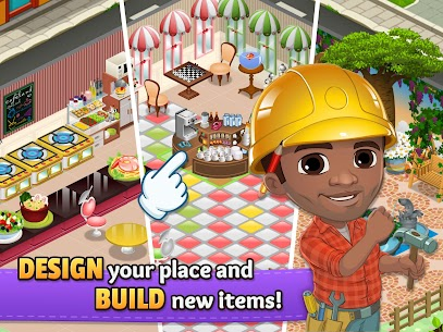 Cafeland MOD – World Kitchen (Unlimited Money) 9