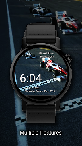 Watch Face Race Cars Wallpaper Aplicaciones (apk) descarga gratuita para Android/PC/Windows screenshot