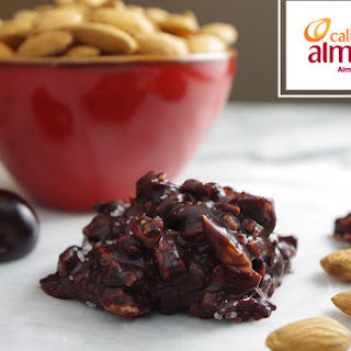 Salted Dark Chocolate and Cherry Almond Clusters.