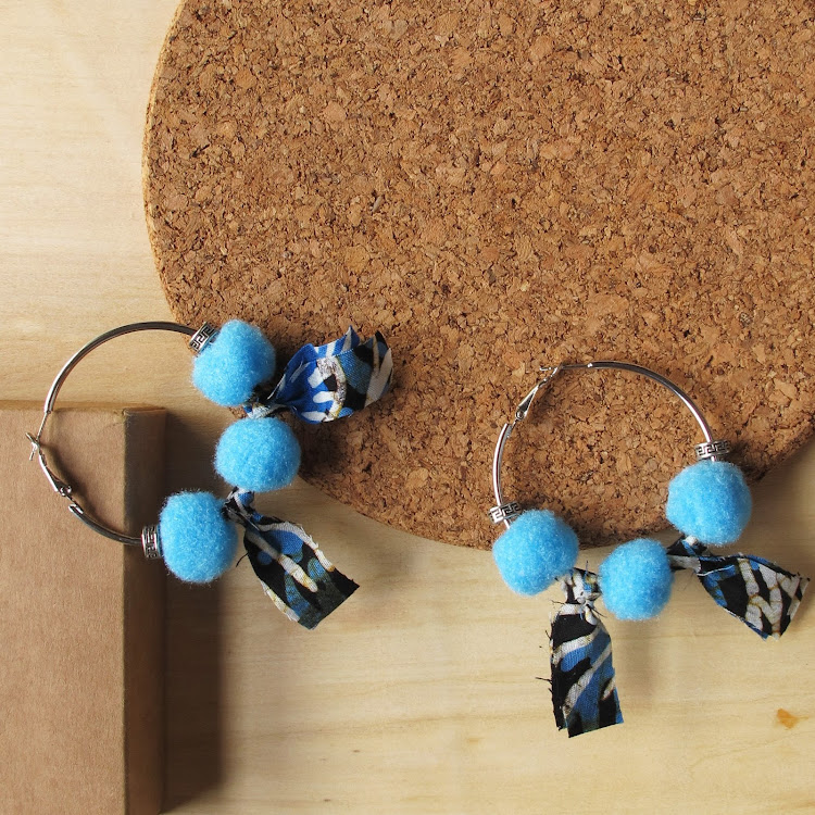 Boho Hoop Earrings #Maya