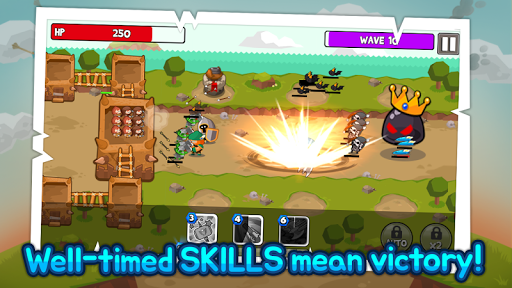 Grow Tower: Castle Defender TD  {cheat|hack|gameplay|apk mod|resources generator} 3