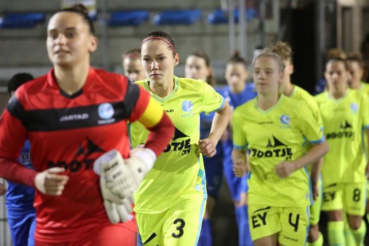 Vrouwen Gent halen de hamer boven en winnen met 12-1(!)