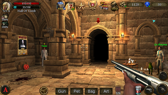 Dungeon Shooter (MOD, Free Shopping) 1