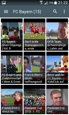 android Live Football Score Bundesliga Screenshot 4