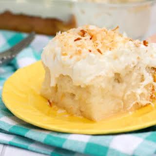 Coconut Poke Cake.