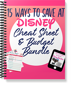 15 Ways to Save at Disney World Budget Sheets