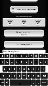 Black and White Keyboard screenshot 3