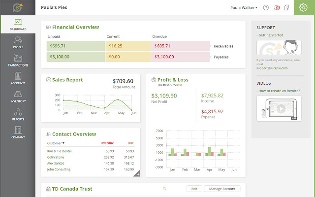 Free Accounting Software by SlickPie