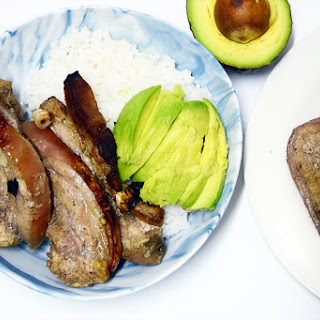 EASY WORCESTERSHIRE PORK BELLY RICE BOWL