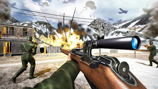 WW2 US Commando Strike Free Fire Survival Games 1.8 10
