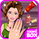 Beauty Nail Spa Games mobile app icon
