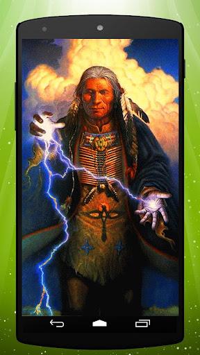 Native American Live Wallpaper