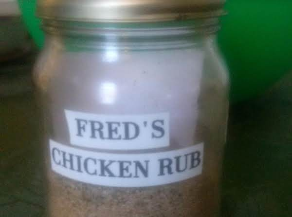 Fred's Chicken Rub